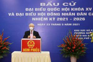 Danh sách 29 người trúng cử đại biểu Quốc hội khóa XV ở Hà Nội