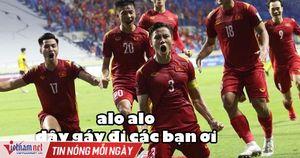 Dân mạng rộn ràng chế ảnh Malaysia thua đau trước Việt Nam