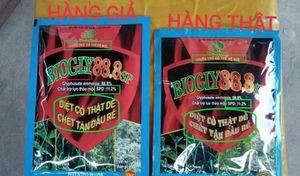 Cảnh báo: Tình trạng giả mạo thuốc trừ cỏ Biogly 88.8SP