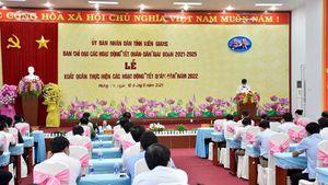Kiên Giang: Tết Quân - Dân thắm tình nghĩa quân với dân như cá với nước
