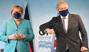 Bức ảnh hé lộ 'sóng ngầm' tại cuộc họp G7