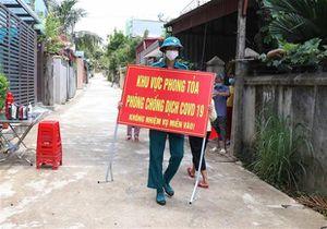Hà Nam: Kết thúc cách ly y tế đối với hai thôn của xã Công Lý