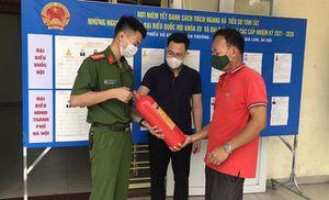 Công an thành phố Hà Nội mở cao điểm tuyên truyền về phòng cháy, chữa cháy