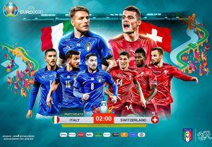 Soi kèo và dự đoán: trận đinh Ý – Thụy Sĩ