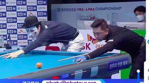 Mã Minh Cẩm đánh bại Hacker giải Billiards PBA Tour tại Hàn Quốc