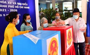 Thành phố Hồ Chí Minh: Vượt qua nhiều khó khăn, công tác bầu cử đã được thực hiện thành công