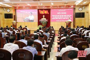 Triển khai thực hiện các chương trình mục tiêu quốc gia trên địa bàn Thanh Hóa