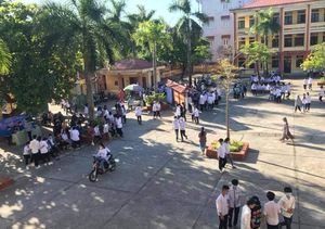Thái Bình: Hơn 20 nghìn thí sinh làm thủ tục nhận phòng thi