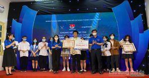 Đội thi Trường Amsterdam đạt giải Nhất cuộc thi 'Sáng tạo tương lai xanh'