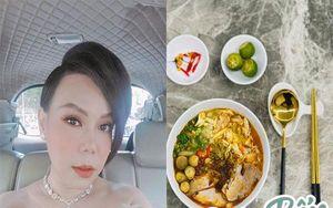 Việt Hương nấu bát bún 'ú ụ topping' trông thật đã mắt