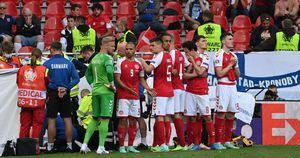 Đan Mạch chiến đấu để thắng tuyển Nga vì đồng đội Eriksen