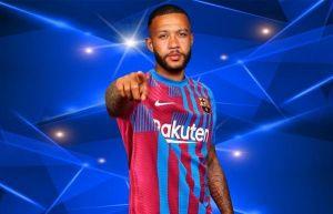 Depay mặc số áo huyền thoại tại Barcelona