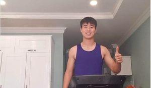 Duy Mạnh khoe 'body' khiến fan nữ mê mẩn, Minh Vương chạy miệt mài trong phòng cách ly