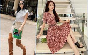 Sao Việt 'đu trend' giày mũi vuông độc lạ