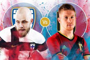 Trực tiếp bóng đá Bỉ vs Phần Lan EURO 2020