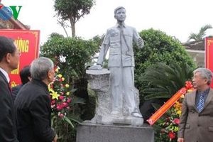 Khánh thành 4 bức tượng Đại tướng Nguyễn Chí Thanh