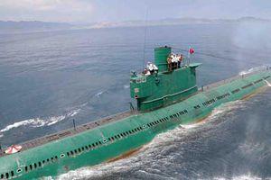 Sự thật giật mình về sức mạnh tàu ngầm Triều Tiên