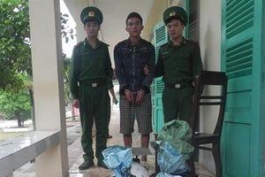 BĐBP Quảng Bình bắt giữ vụ vận chuyển 50kg thuốc bom từ Lào về Việt Nam