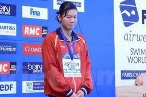 Vì sao Ánh Viên buồn khi giành huy chương đồng tại Cúp bơi lội thế giới Paris?