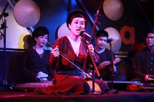 Cô bé 6 tuổi hát xẩm khiến khán giả nhớ cụ Hà Thị Cầu