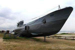 Ảnh hiếm ngóc ngách tàu ngầm U-boat nguy hiểm của Đức
