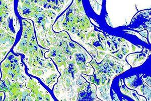 Bản đồ tuyệt đẹp về sự thay đổi của nước trên Trái đất