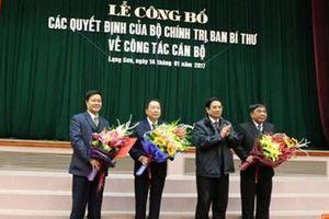 Công bố quyết định của Bộ Chính trị, Ban Bí thư về công tác tổ chức, nhân sự