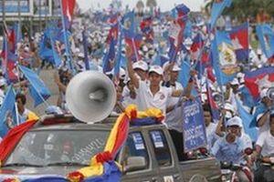 Campuchia bầu cử xã phường cạnh tranh quyết liệt