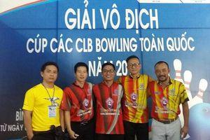 Đội nam Hà Nội thắng áp đảo ở giải vô địch bowling quốc gia 2017