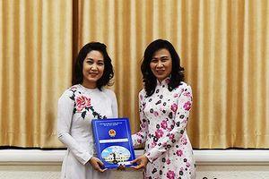 Ca sĩ Thanh Thúy làm Phó Giám đốc Sở Văn hóa và Thể thao TP HCM