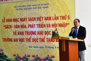 Khai mạc ngày sách Việt Nam tại ĐH TDTT Bắc Ninh