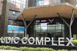 Hà Nội: Chung cư Udic Complex chưa đủ PCCC, coi thường tính mạng dân