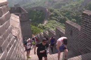 Marathon trên Vạn lý Trường thành - Cuộc đua cam go nhất thế giới