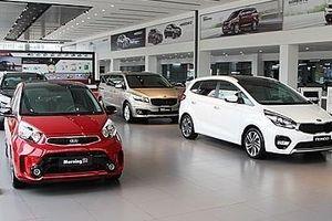 Thị trường ô tô tăng cao nhất kể từ đầu năm
