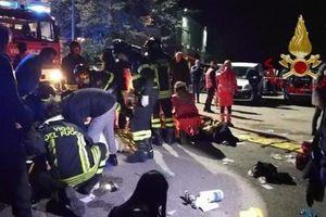Giẫm đạp kinh hoàng tại hộp đêm Italy, hơn 100 người thương vong