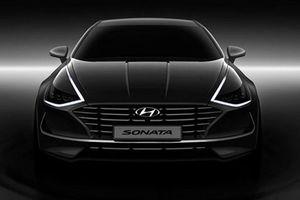 Hyundai bất ngờ 'nhá hàng' Sonata 2020 mới đầy sang chảnh