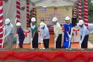 Khởi công xây dựng công trình Trường Mầm non Tân Hạnh (Vĩnh Long)