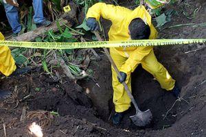 Phát hiện 35 thi thể bị sát hại thương tâm ở Mexico