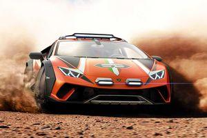 Lamborghini ra mắt phiên bản off-road của Huracan