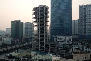 Nhìn gần tháp nghìn tỷ bị bỏ hoang lâu năm đang xin bán tại Hà Nội