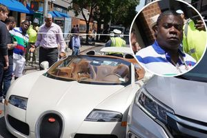 Va chạm nhẹ với Honda CR-V, chủ xe Bugatti mới tinh mất 200.000 USD