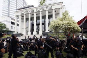 Indonesia tăng cường an ninh tại phiên điều trần kết quả bầu cử tổng thống