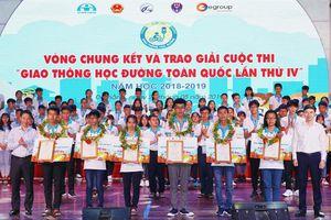 Gần 800 nghìn học sinh phổ thông tham gia cuộc thi 'Giao thông học đường'