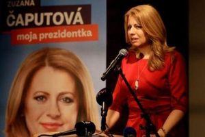 Zuzana Caputova tuyên thệ nhậm chức nữ tổng thống đầu tiên của Slovakia