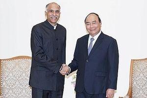 Thủ tướng Nguyễn Xuân Phúc tiếp Đại sứ Ấn Độ tại Việt Nam