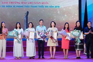 Báo Nghệ An nhận giải Ba toàn quốc viết về công tác đoàn và phong trào thanh thiếu nhi năm 2019