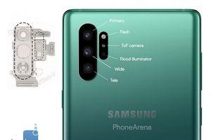 Camera Galaxy Note 10 nâng cấp mạnh mẽ: 3 khẩu độ, 2 cảm biến ToF