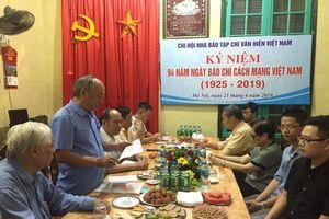 Chi hội Nhà báo Tạp chí Văn hiến Việt Nam ôn lại truyền thống vẻ vang