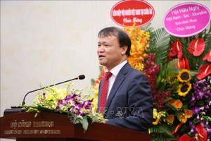 Thứ trưởng Bộ Công Thương Đỗ Thắng Hải được bầu làm Chủ tịch Hội hữu nghị Việt Nam - Séc