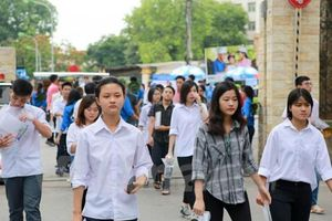 Thi Trung học phổ thông quốc gia: Những điều thí sinh cần lưu ý